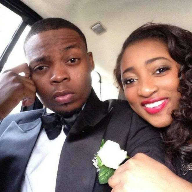 Olamide and wife