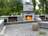 Patio Pictures With Fireplace - Patio Designs