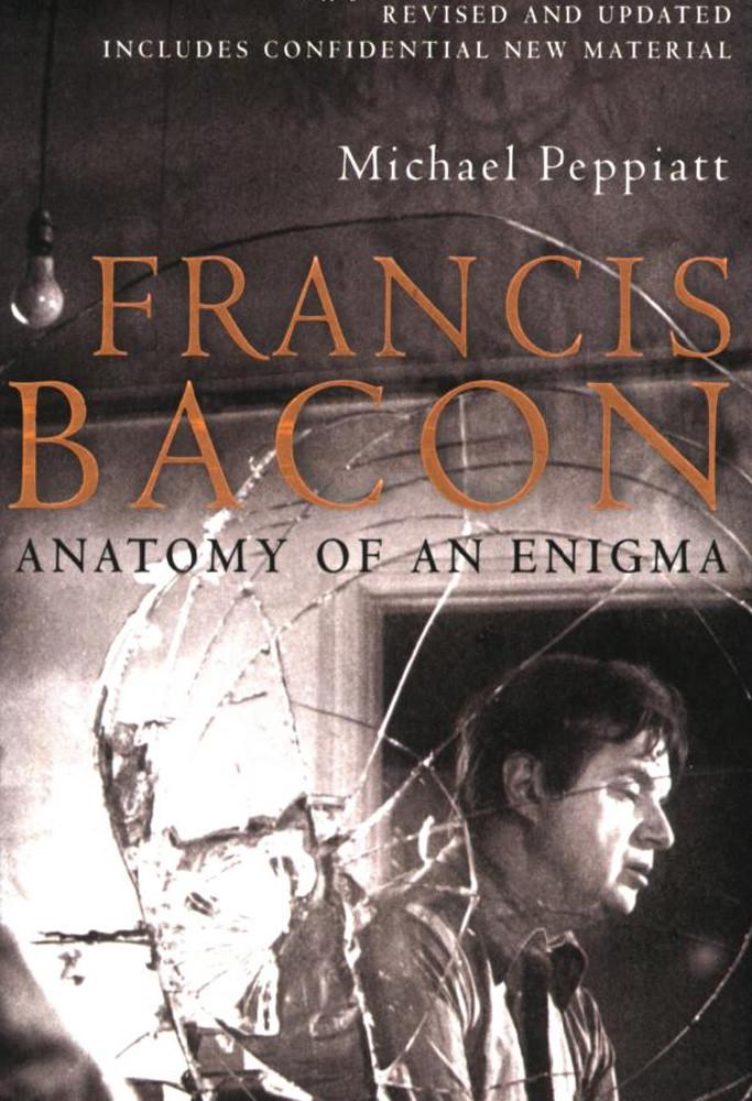 E.Z.M. – 10/06/16 (Photograph of Francis Bacon by John Deakin, Cover of Francis Bacon: Anatomy of an Enigma, by Michael Peppiatt, 2009)
