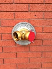 Wall fire hydrant  anewscafe.com