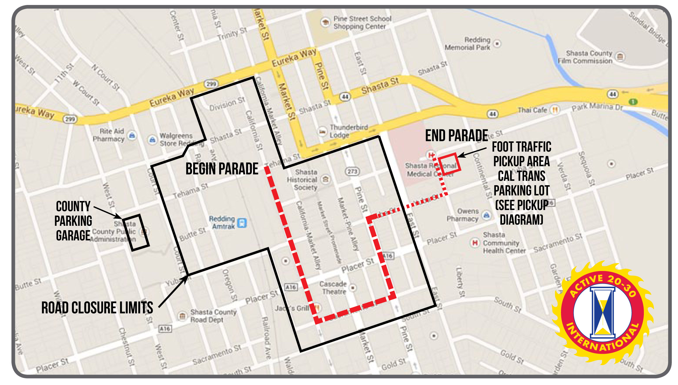 Redding Lighted Christmas Parade Route And Closures Anewscafe
