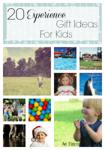 """20 """"Experience"""" Gift Ideas for Kids"""