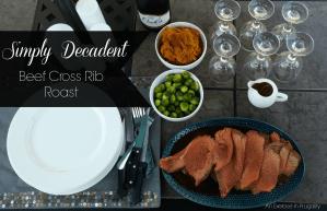 Beef Cross Rib Roast Recipe