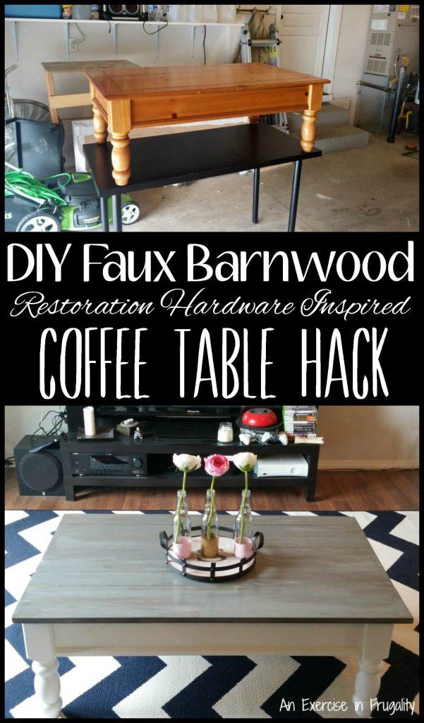 diy barnwood coffee table an exercise