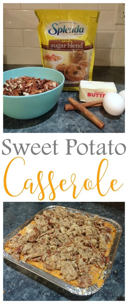 Splenda Sweet Potato Casserole