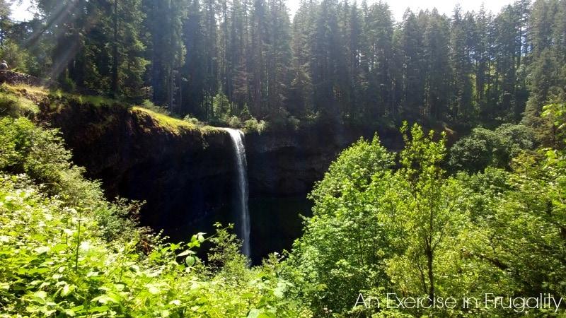 Silver Falls view