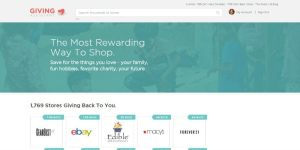 Giving Assistant: Earning Money Back by Shopping