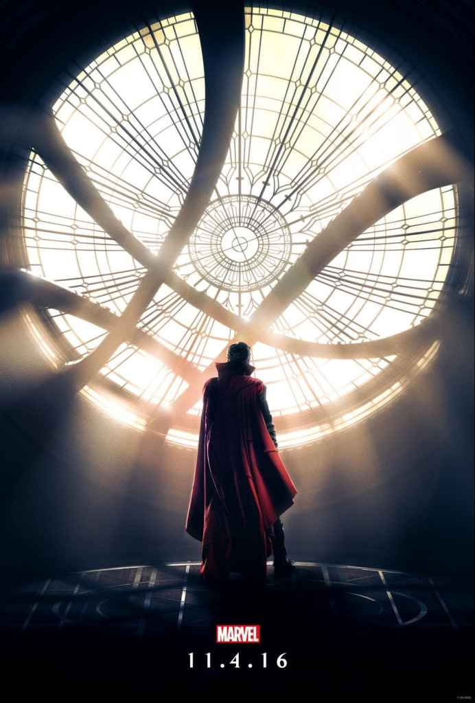 Doctor Strange opens in theaters everywhere Friday, November 4th 2016!
