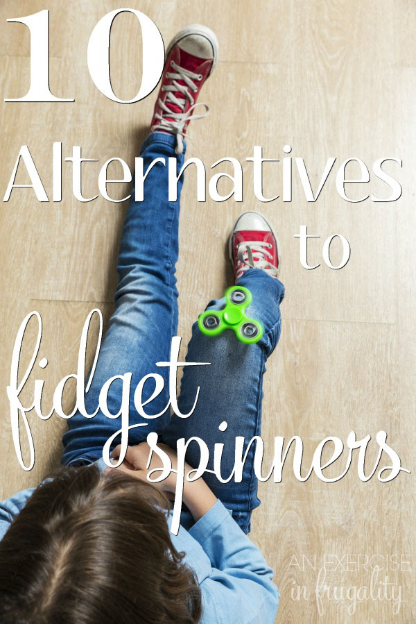 Fidget Spinner Alternatives- Fidget spinners are not truly a fidget, they are just a toy with no real neurological benefit. Parent of kids with autism, ADD, ADHD and other special needs may find benefit in some of these great fidget options. I personally love a couple of these ideas for my own anxiety, ADD and panic disorder.