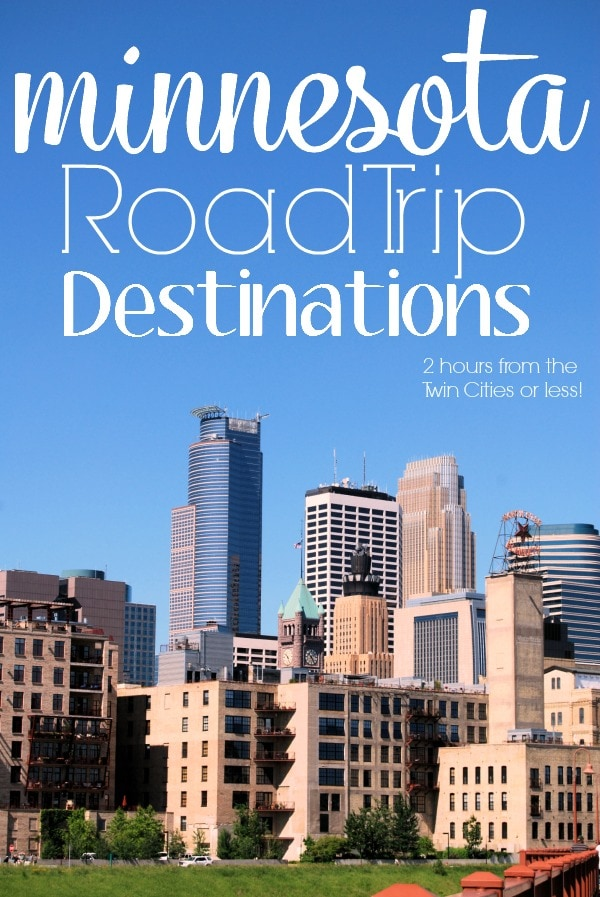 Minnesota Road Trip Destinations- Whether your traveling to Minnesota for fun or business (or for the 2018 Superbowl LII) there's TONS to see and do. These are just a few ideas to get you started, plus a couple tips about getting your car road trip ready.
