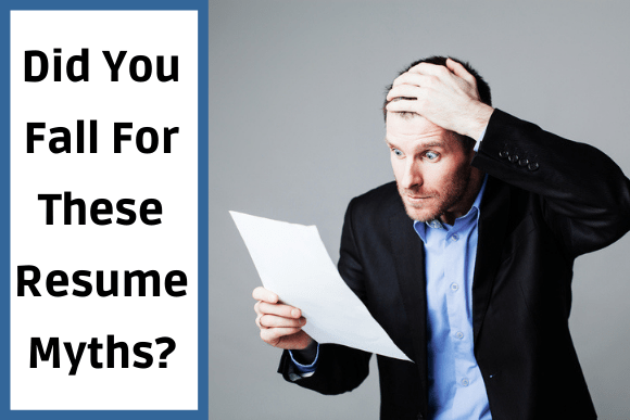 Resume Myths