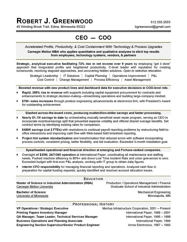 Networking Resume Sample
