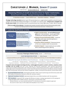 CIO Sample Resume by Laura Smith-Proulx