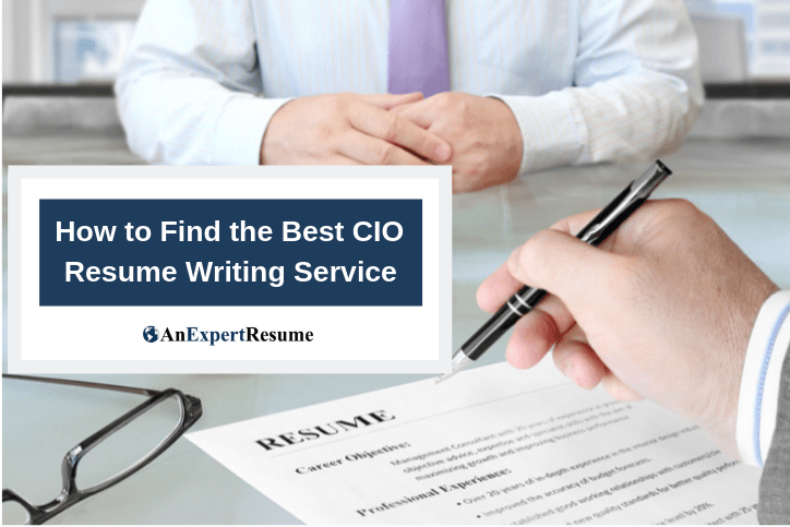 Resume Writing Services for CIOs.