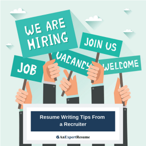 Resume Writing Tips From a Recruiter