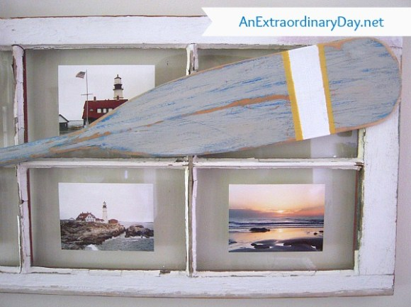 Vintage Window Coast Photo Frame :: AnExtraordinaryDay.net