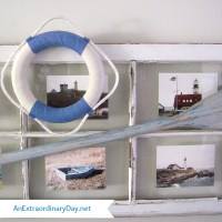 Coastal Vintage Window :: Photo Frame | An Extraordinary Day