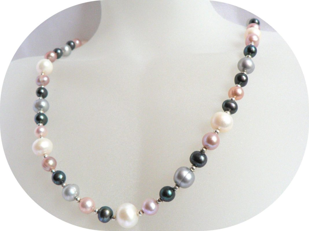 pearl necklace designs images  ANextWeb