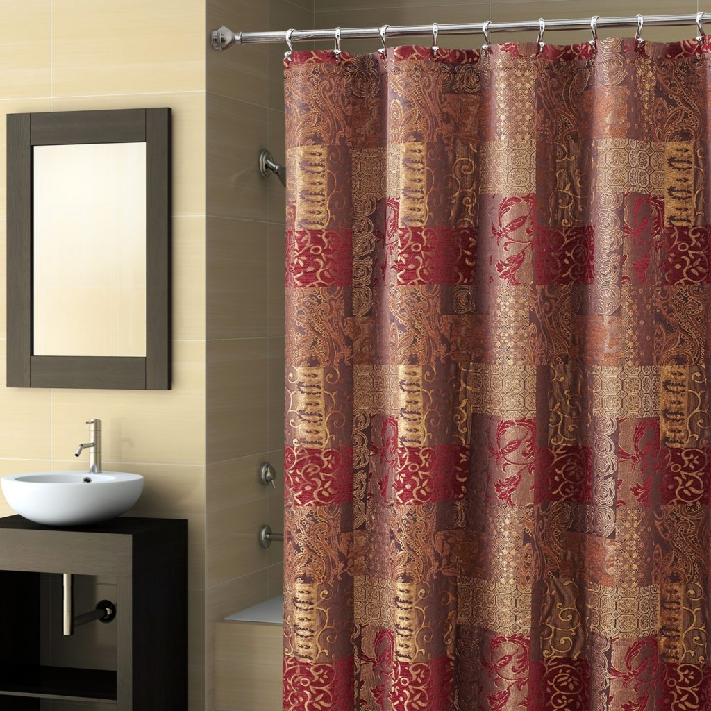 J Croscill Shower Curtain Bed Bath And Beyond Liner Long Leaves