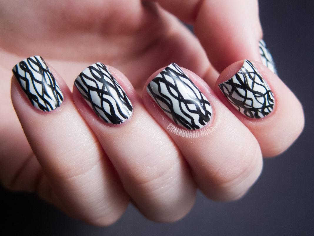 Simple Nail Art Line Designs Nail Designscom Best Of Easy Nail