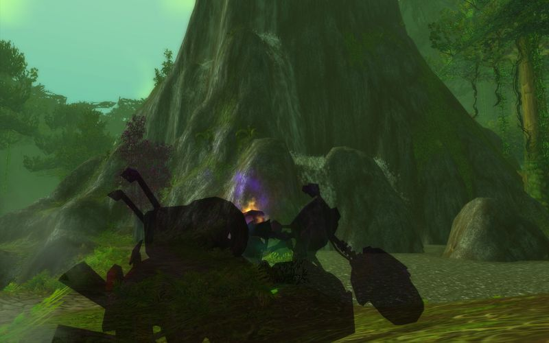 shadow priest on motorcycle, Feralas