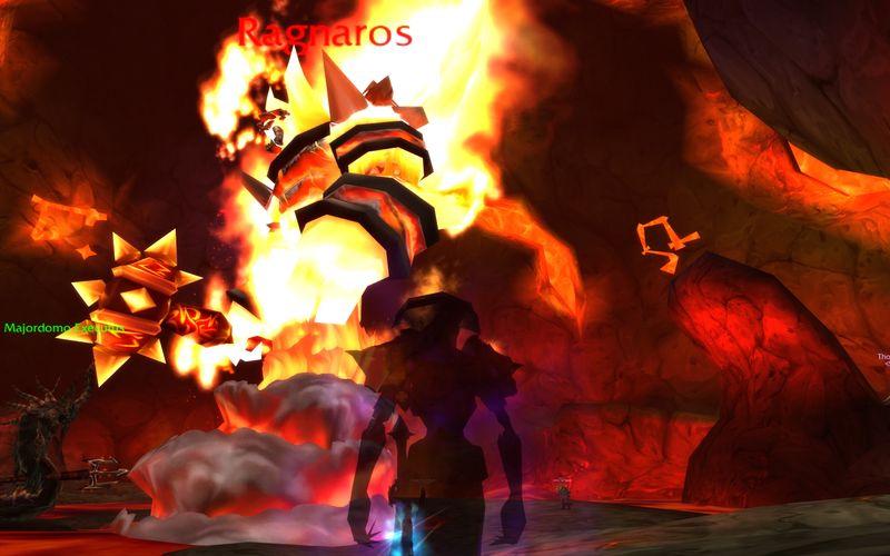 shadow priest calls on Ragnaros via Majordomo Executus in old Molten Core