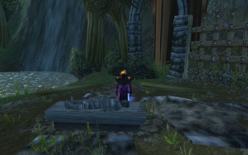 shadow priest in old Duskwood graveyard