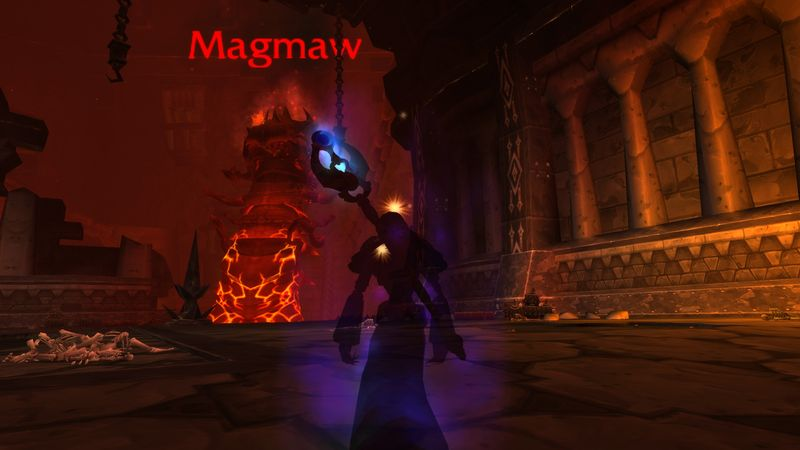 shadow priests eyes magmaw, and suddenly realizes she is not sure where her shadowfiend has run off to