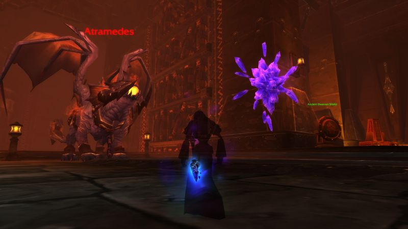 Don't mind me Atramedes, I'm just sightseeing, said the shadow priest as she crept closer...