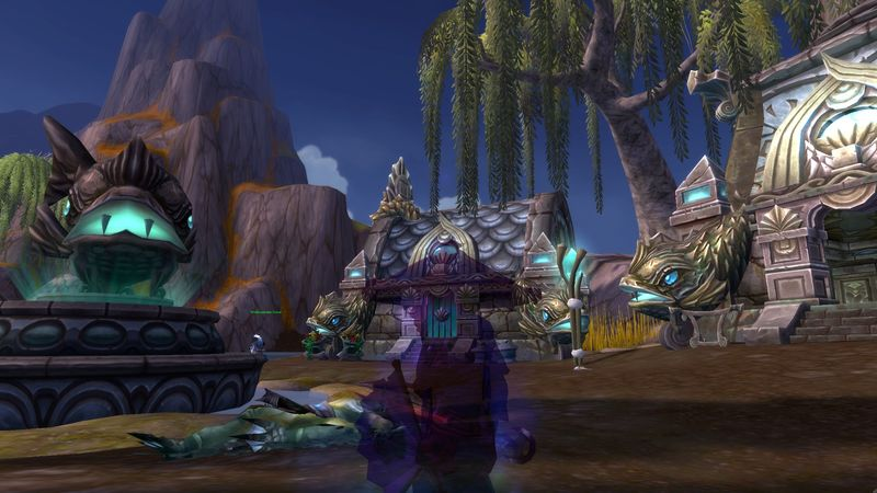 Snakedriver, leader of the Pandaria Shadow Fan Brigade!