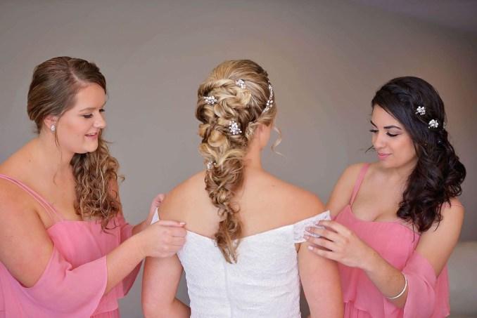 wedding hair and makeup brisbane, mobile bridal hair and
