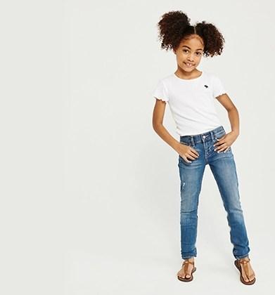 girls jeans abercrombie kids