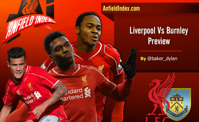Liverpool V Burnley Premier League Preview All About