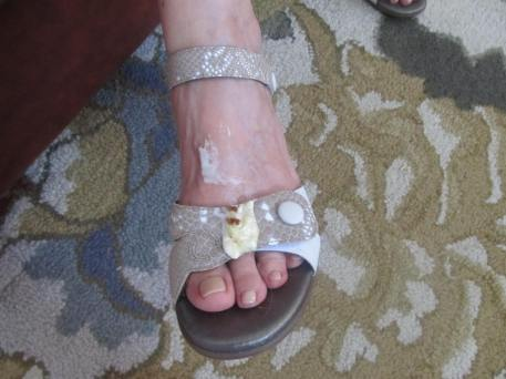 JoAnn's frosted toes