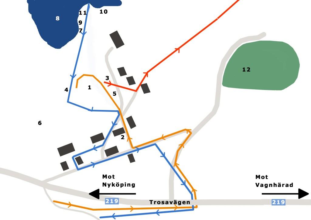 Karta Ångaloppet