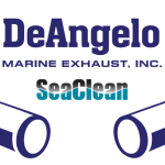 deangelo marine exhaust logo angari
