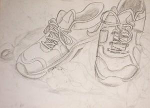 2014, Contour Line Drawing Graphite, 18X24