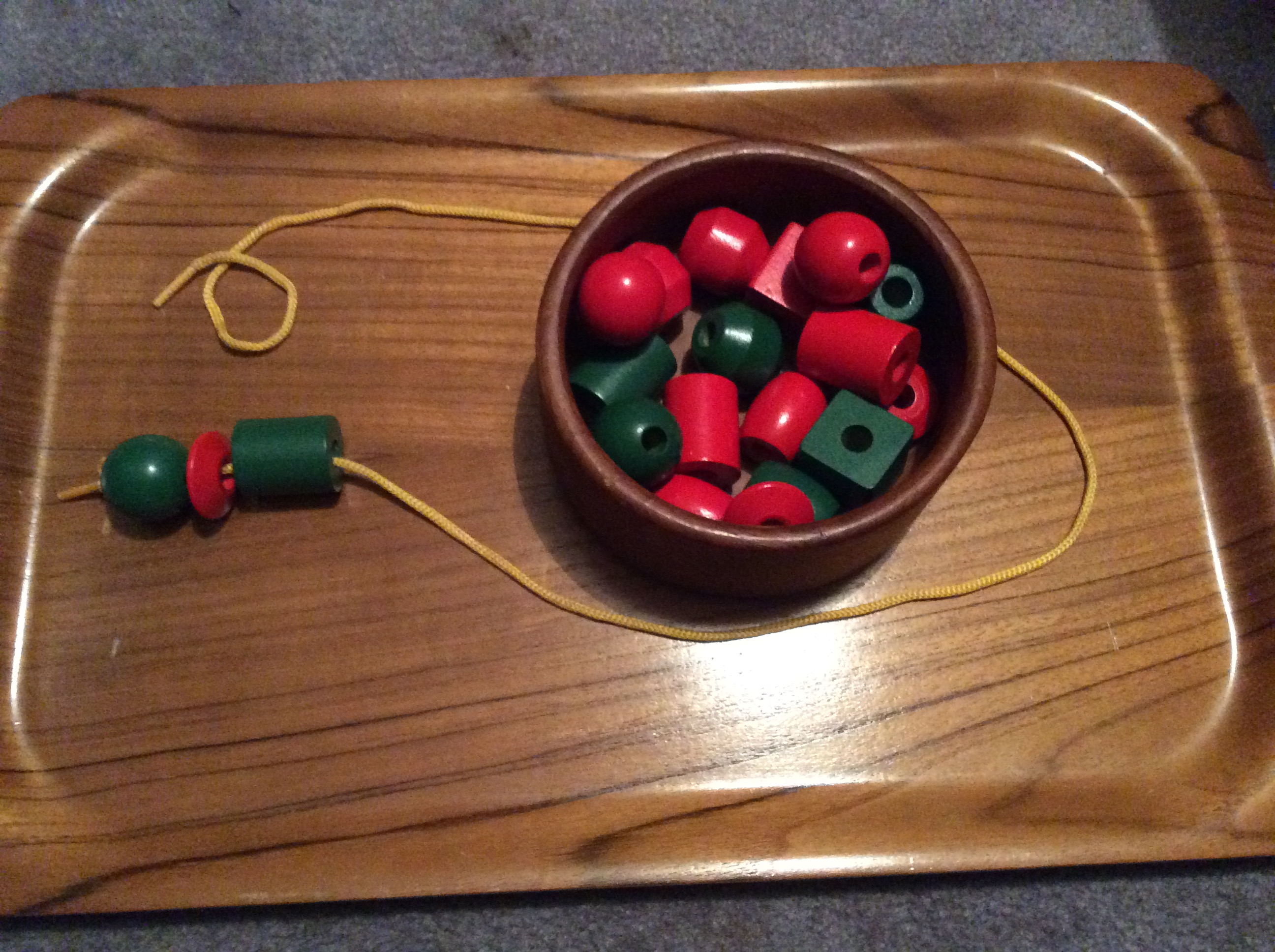 Montessori Style Tray Activities For Toddlers Angathome