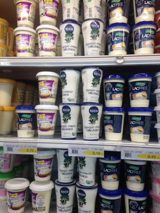 Onde e como eu o encontrei, no supermercado