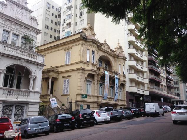 O prédio - Solar Palmeiro No Bistrô do Solar (Porto Alegre/RS)