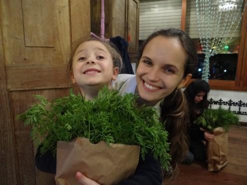 Oficina Criança na Feira, com a nutricionista Thaiana Lindemann da Silva ®SKLindemann