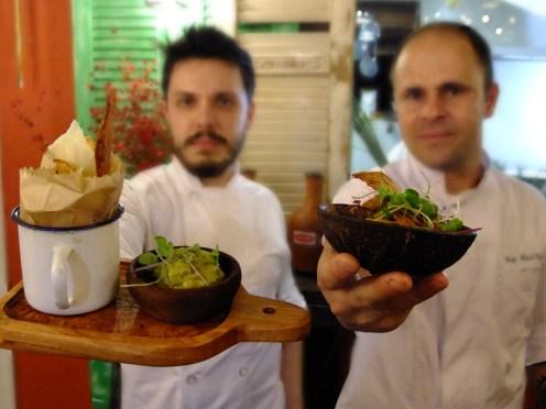 Os chefs no comando da Santa-Feira de 14 de setembro, no Santo Mimo ®SKLindemann