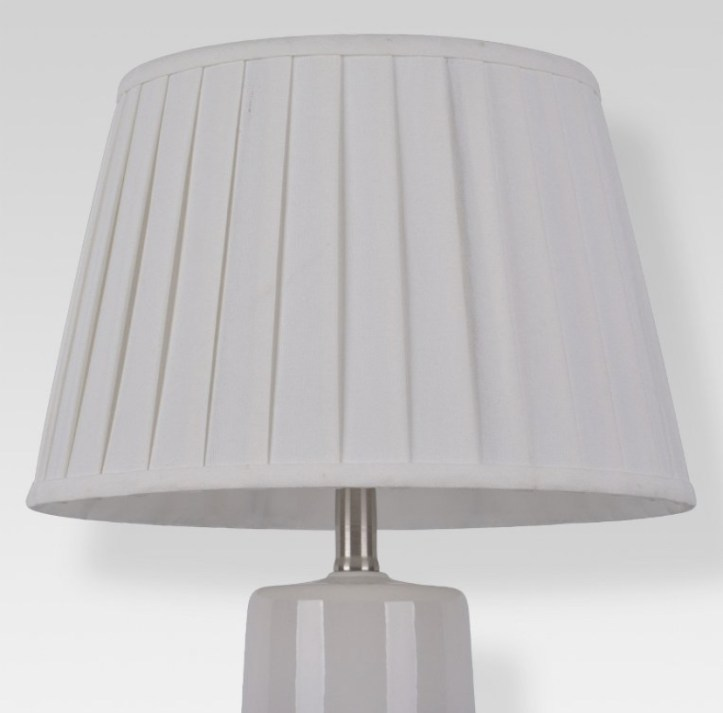 Target white lampshade