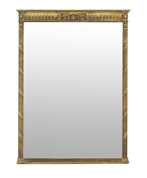 Antique gold Carolina Mirror wall mirror