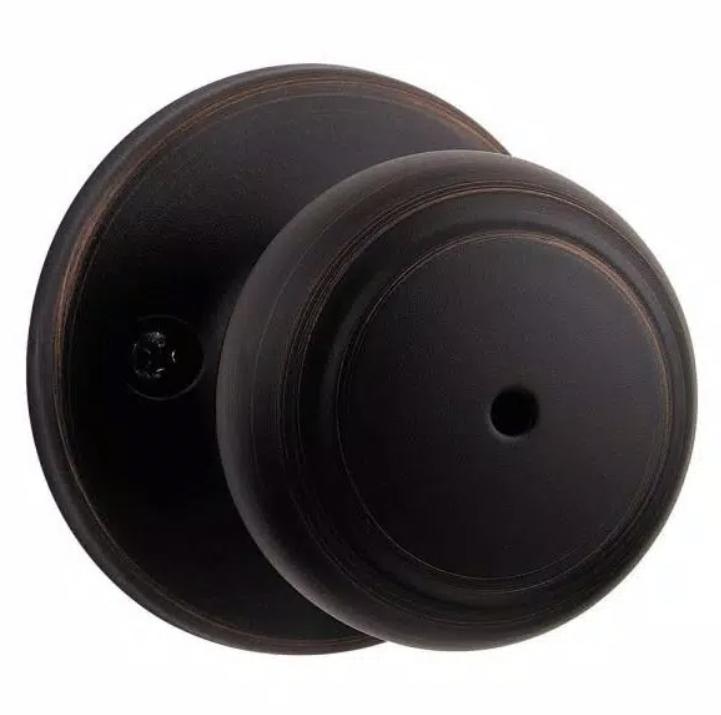 Bronze doorknob