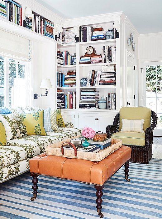 Mark D. Sikes living room