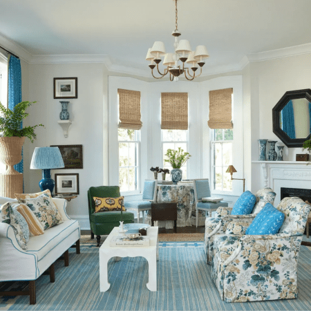 Grandmillenial living room