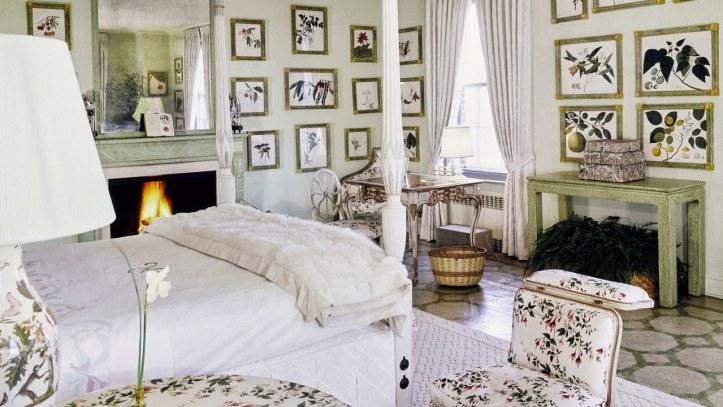 Lee Radziwill bedroom