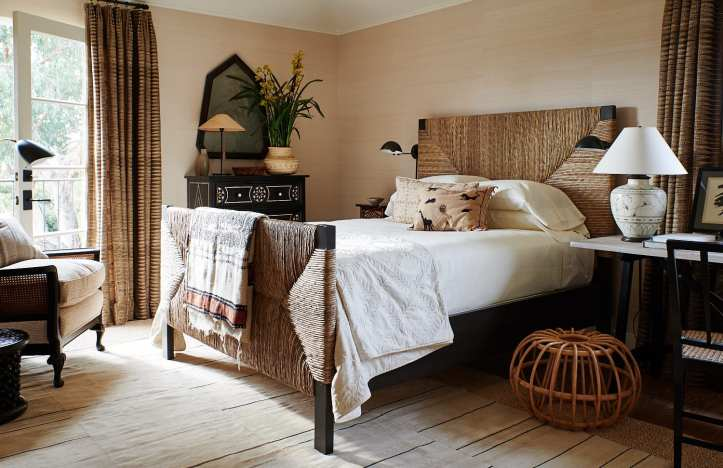 Mark D. Sikes neutral bedroom