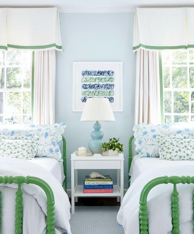 Sarah Bartholomew bedroom with two beds